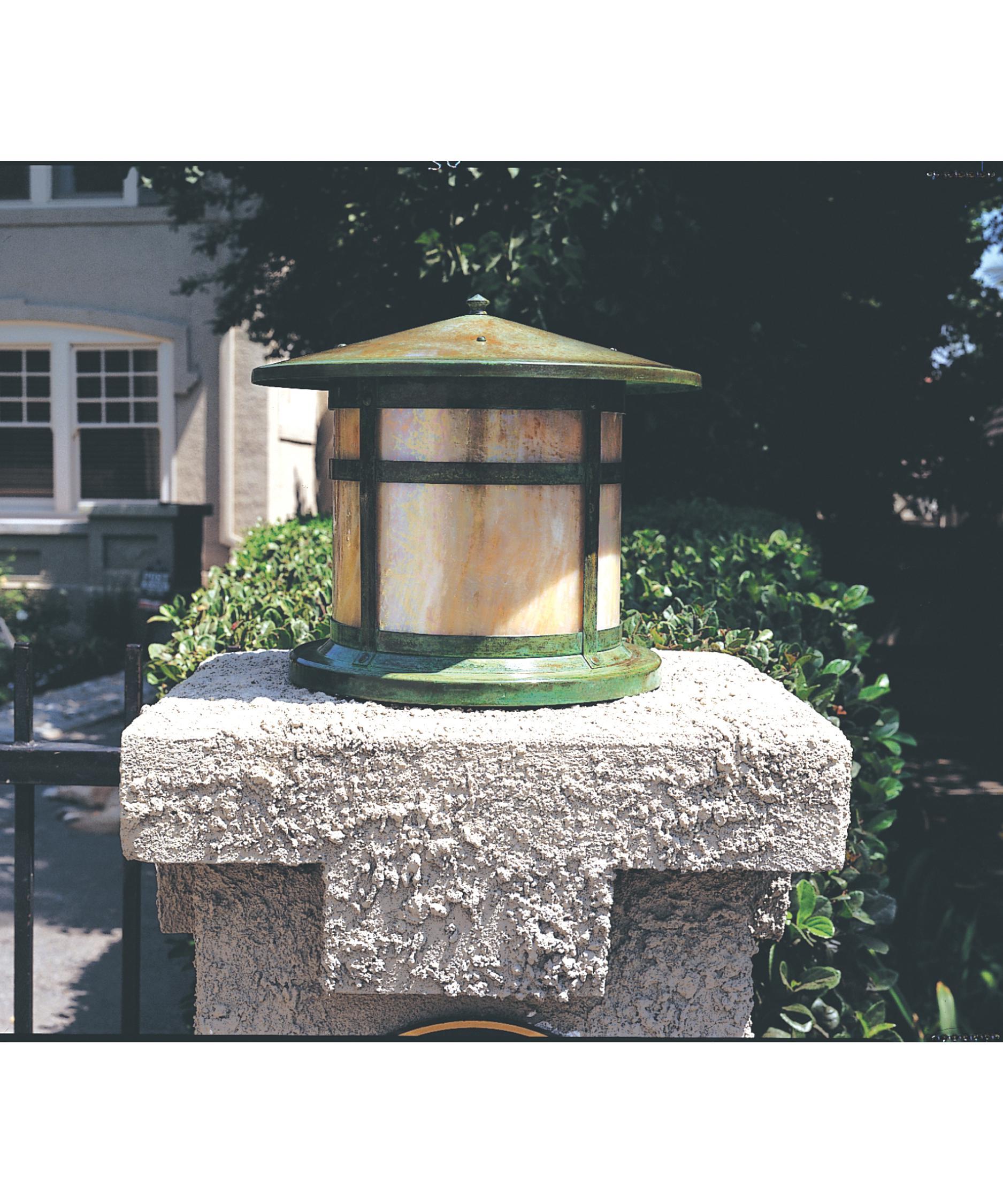 Arroyo Craftsman Bc 17l Berkeley 1 Light Outdoor Pier Lamp Capitol Lighting 1 800lighting Com