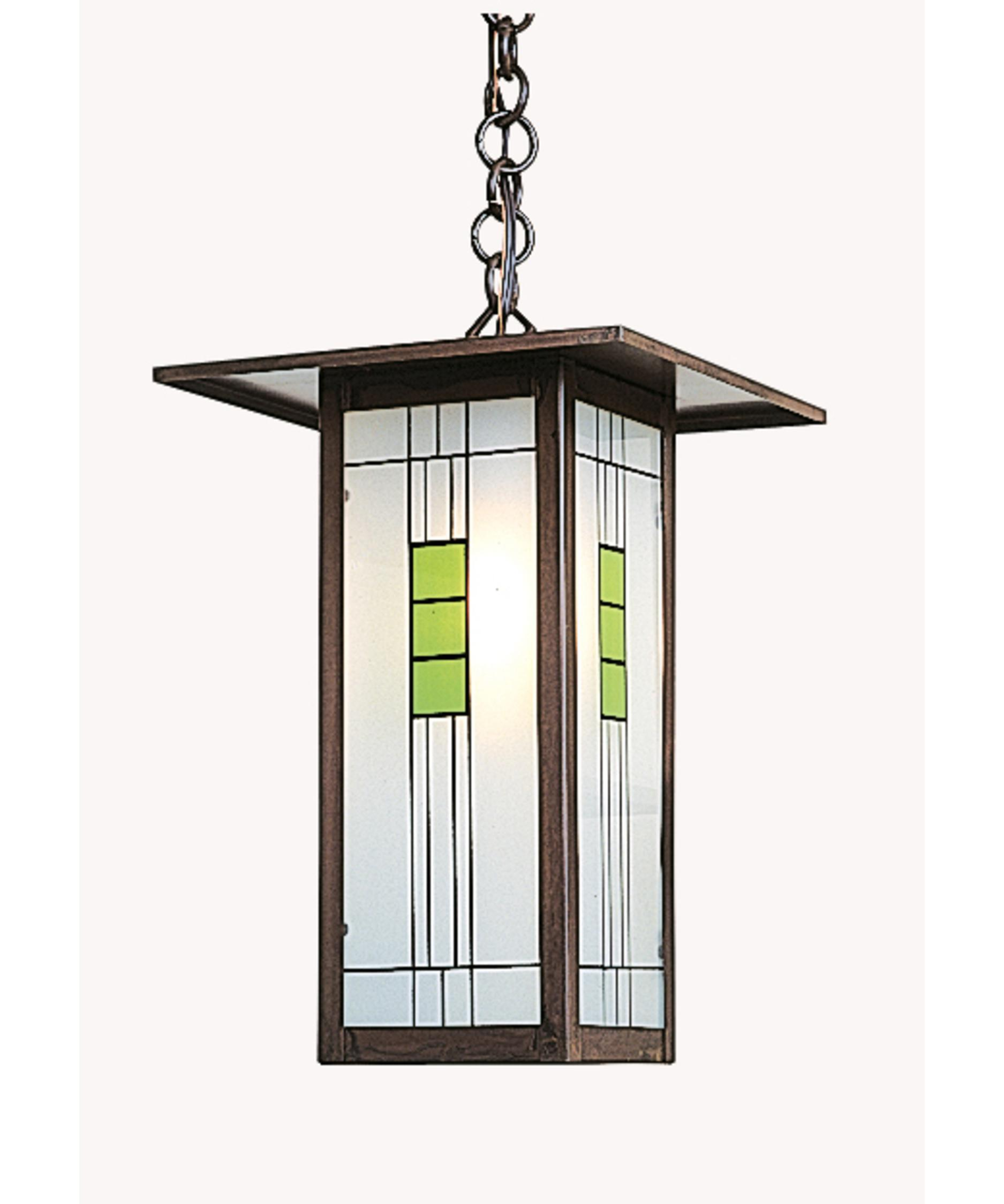 Arroyo Craftsman FH-9L Franklin 9 Inch Wide 1 Light Outdoor ...