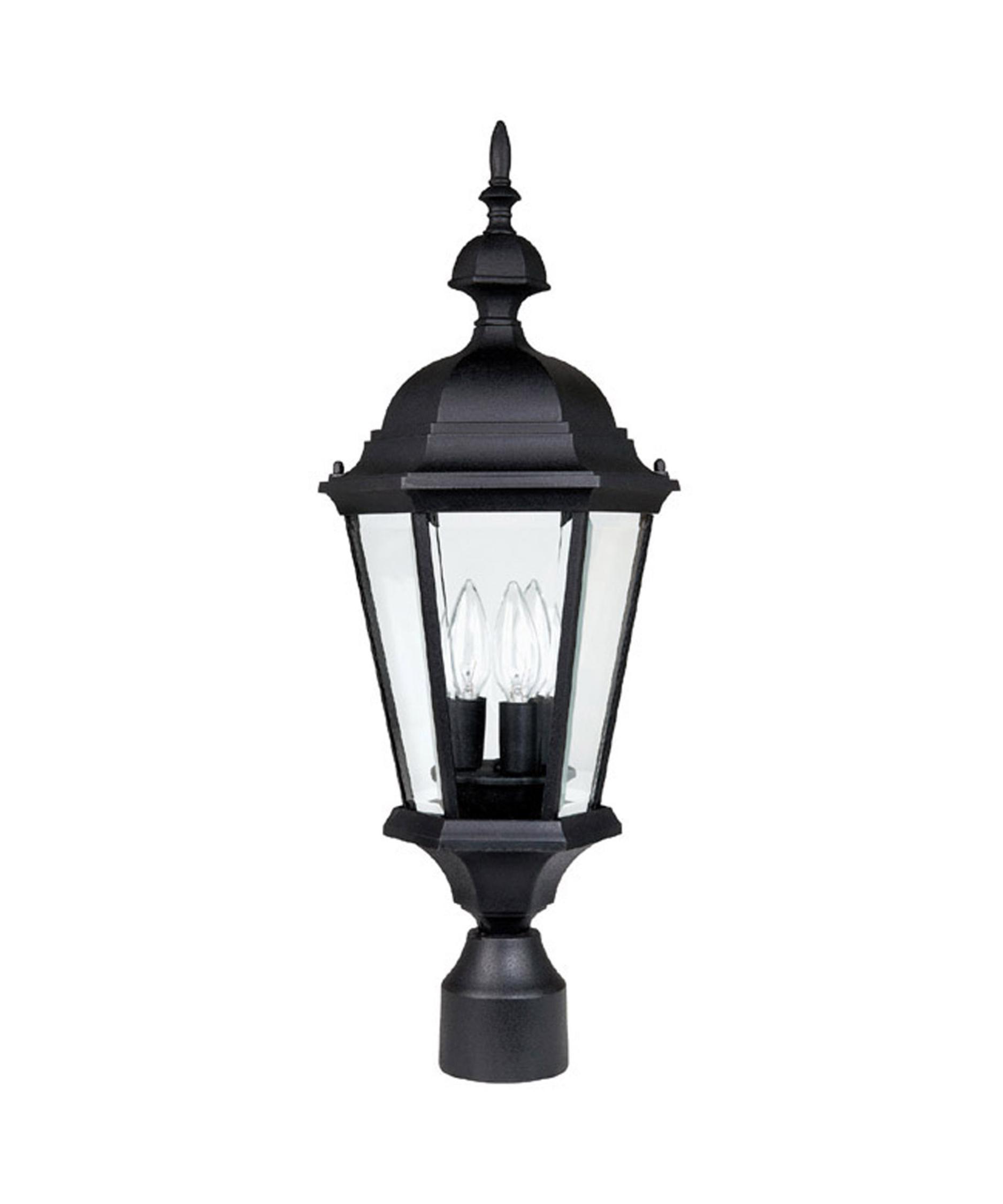 Capital lighting 9725 carriage house 3 light outdoor post lamp capitol lighting 1 for Carriage house exterior lights