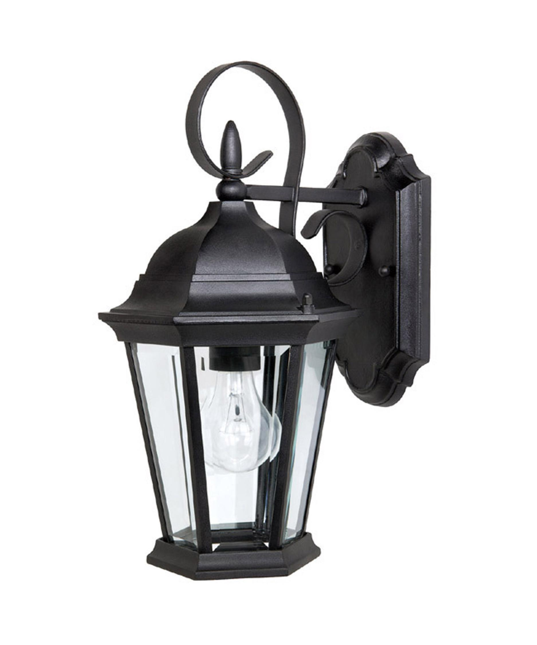 capital lighting carriage house 8 inch wide 1 light outdoor wall light capitol lighting - Capital Lighting