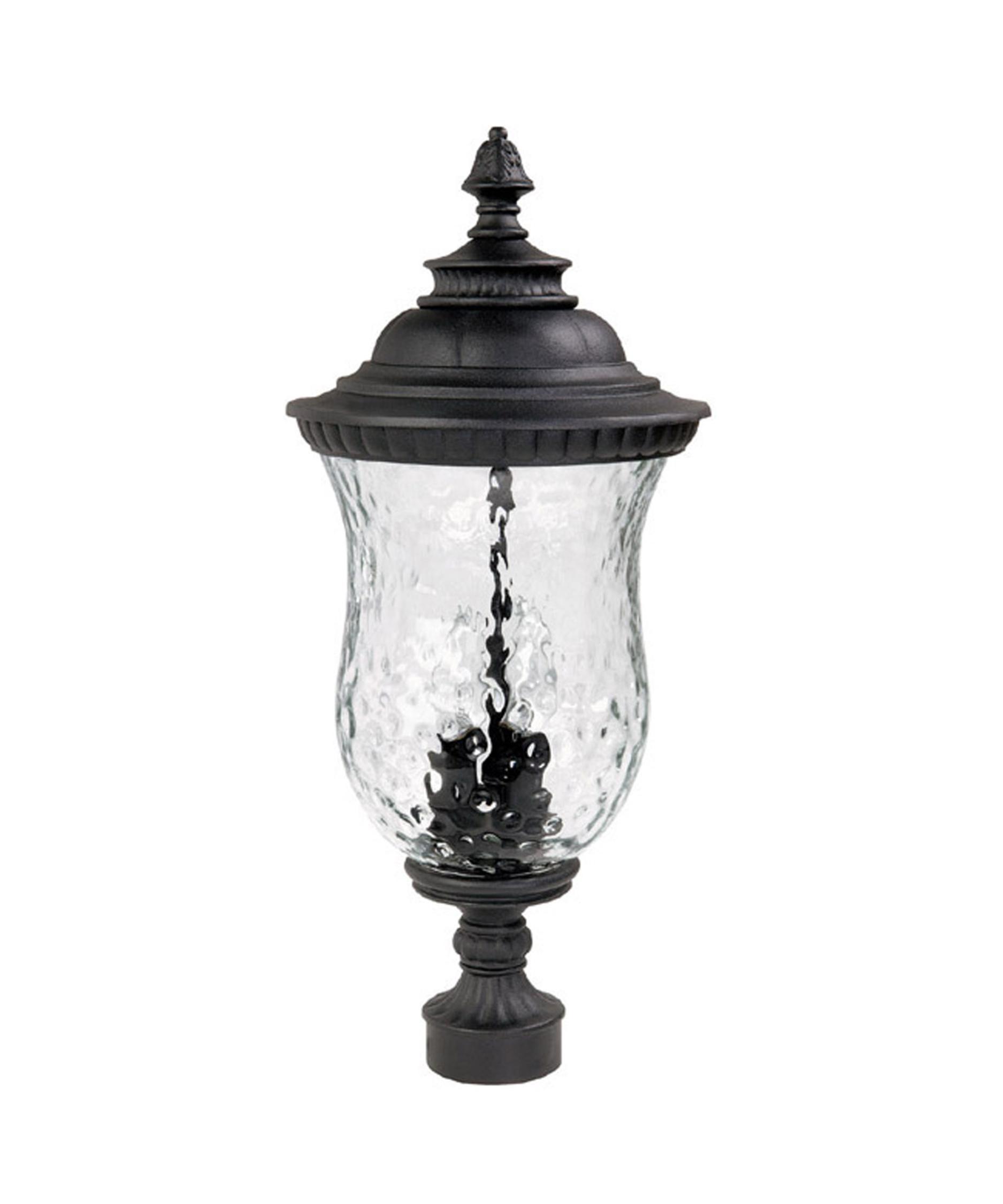 lighting 9785 ashford 3 light outdoor post lamp capitol lighting. Black Bedroom Furniture Sets. Home Design Ideas