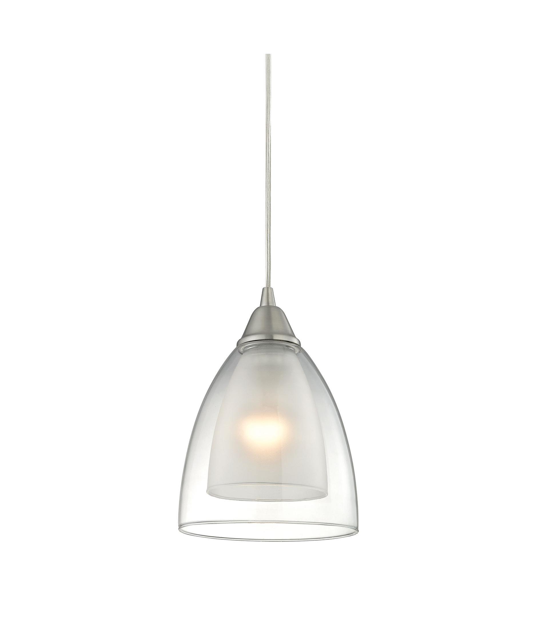 Elk Lighting 10464 1 Layers 6 Inch Wide 1 Light Mini Pendant Capitol Lighting 1 800lighting Com