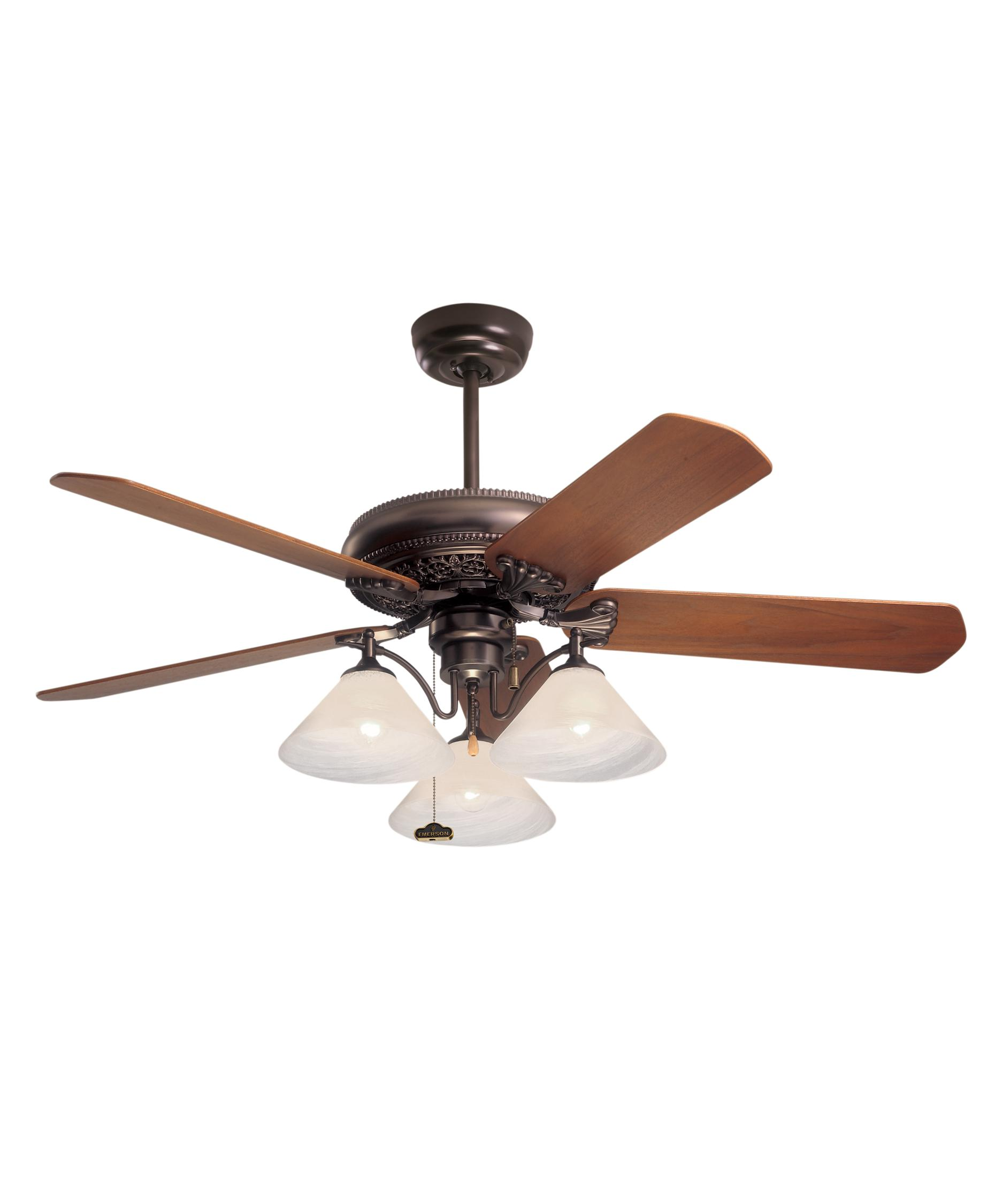 Murray Feiss Ceiling Fan Light Kit: Emerson CF4500 Crown 50 Inch Ceiling Fan With Light Kit