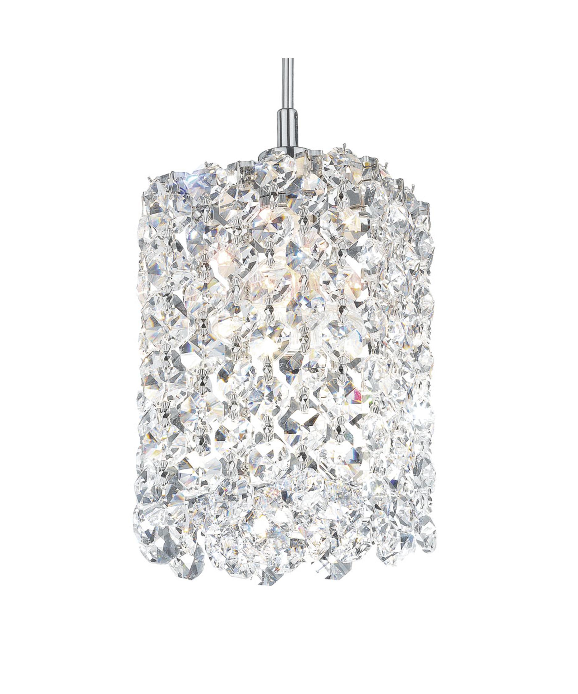 geometrix by schonbek re0405 refrax 4 inch wide 1 light mini pendant capitol lighting - Schonbek