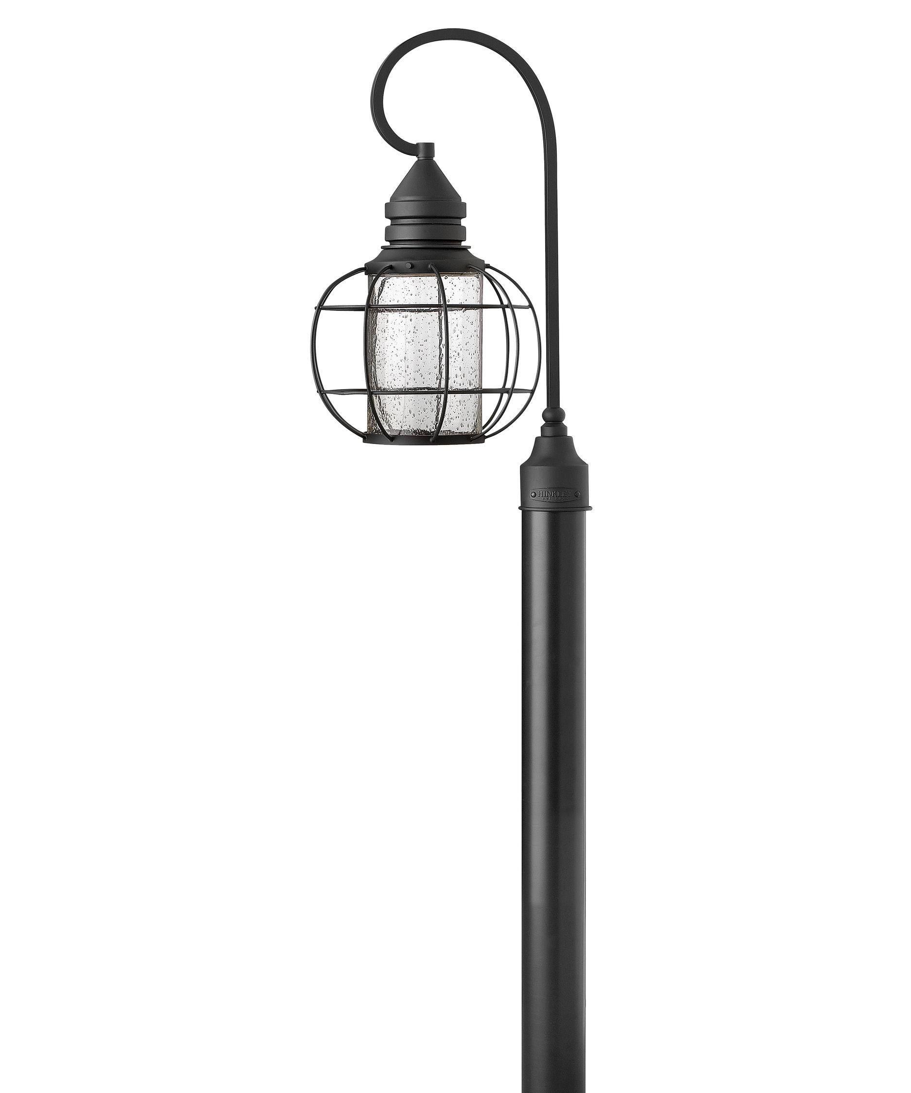 Led outside night light - Hinkley Lighting New Castle 11 Inch Wide 1 Light Outdoor Post Lamp Capitol Lighting 1 800lighting Com
