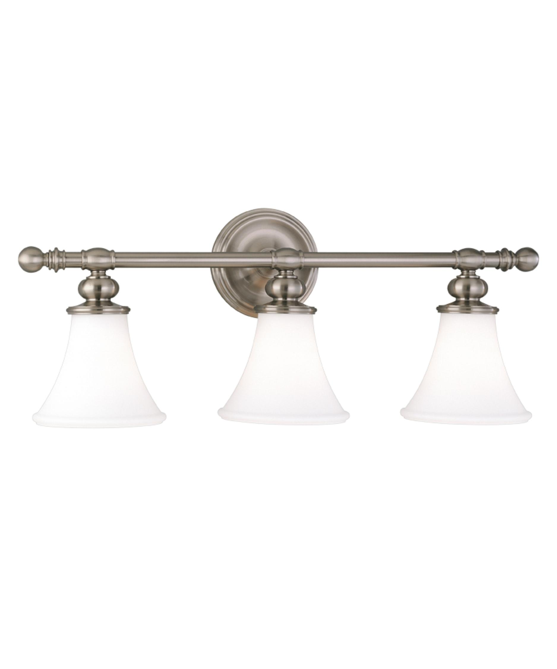 Bathroom Vanity Lights Polished Nickel hudson valley 4503 weston 25 inch wide bath vanity light | capitol
