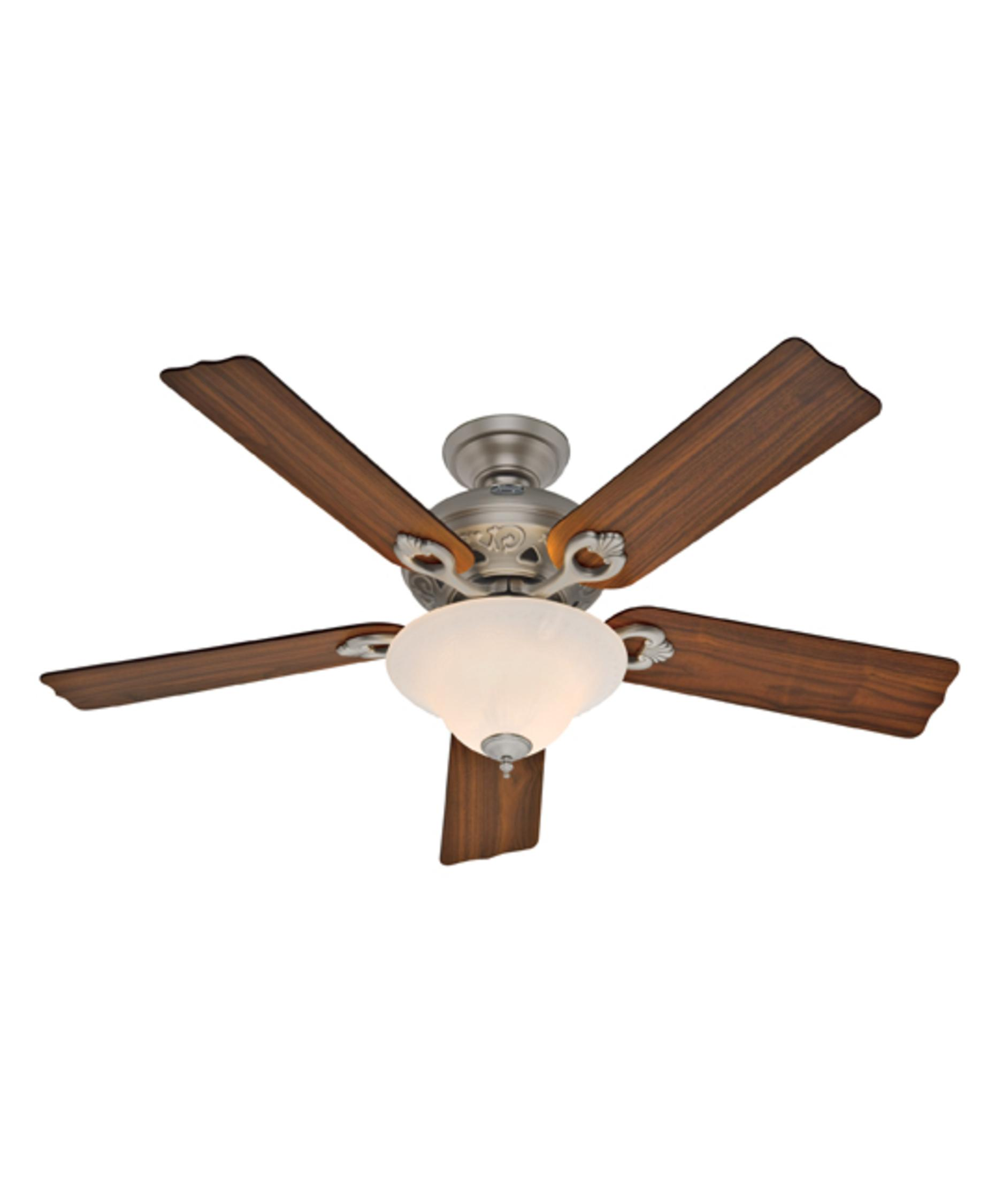 Murray Feiss Ceiling Fan Light Kit: Hunter Fan 21575 Auberge 52 Inch Ceiling Fan With Light