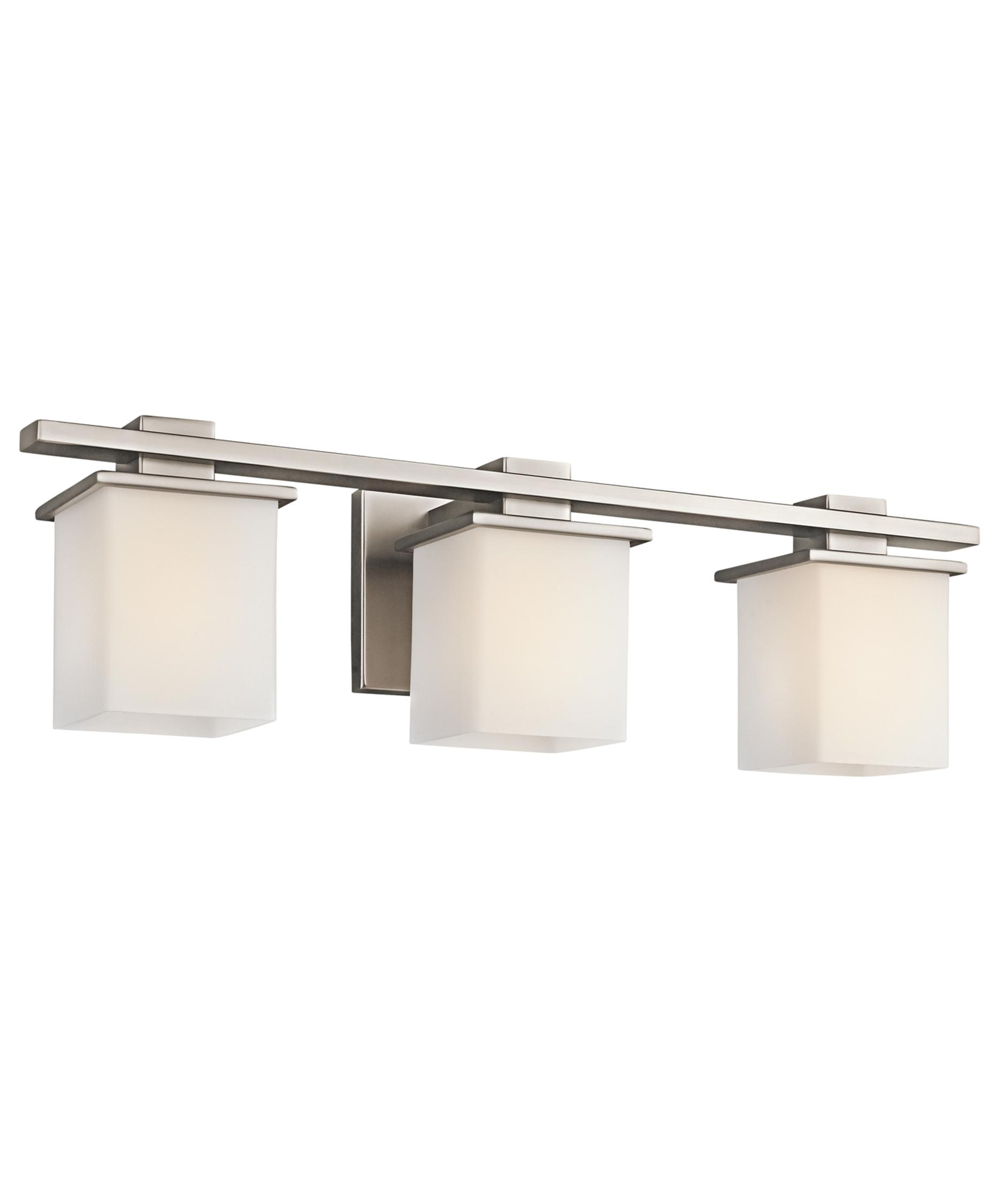 Bathroom vanity lights brushed nickel - Tully 24 Inch Wide Bath Vanity Light