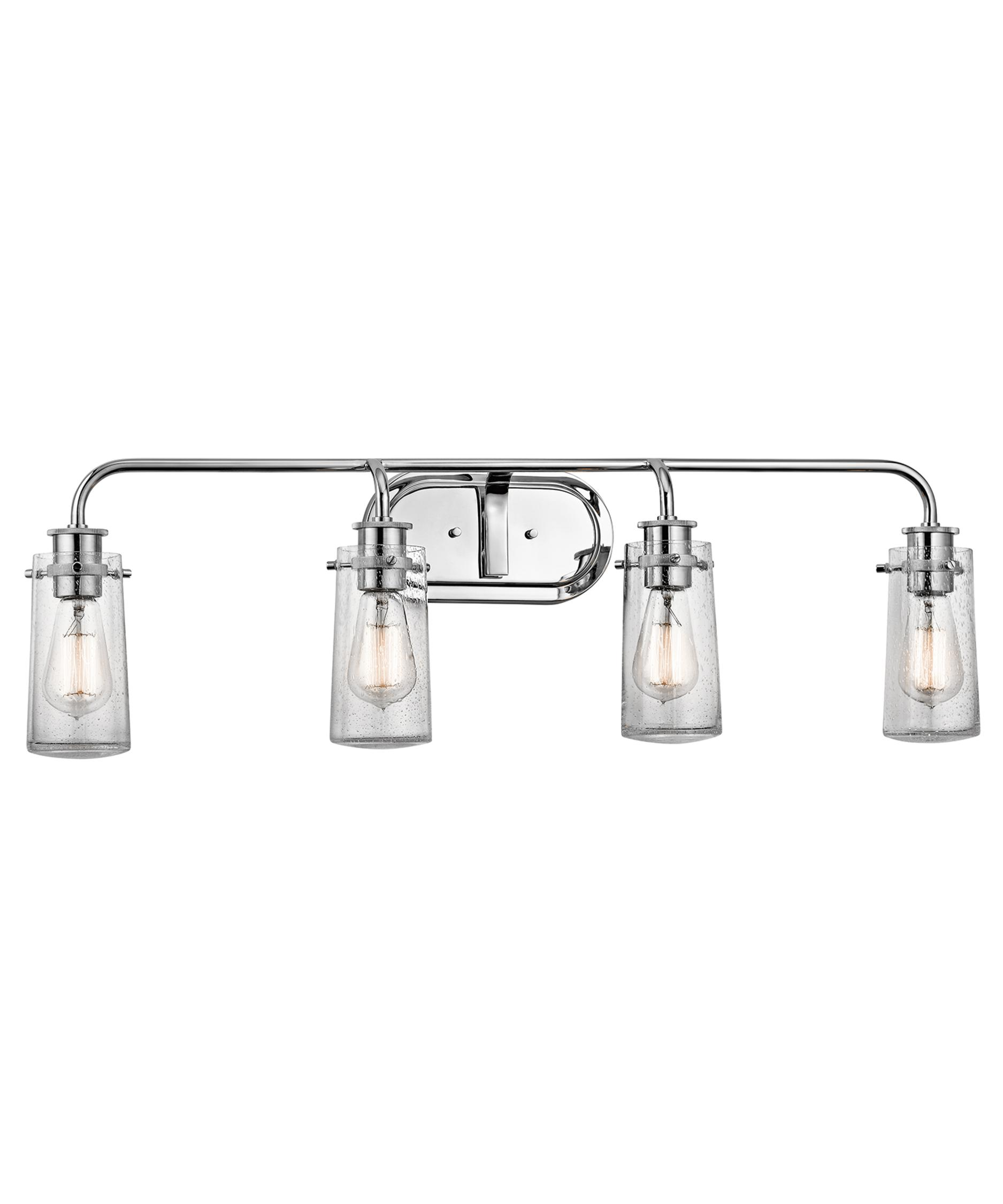 Braelyn 34 Inch Wide Bath Vanity Light