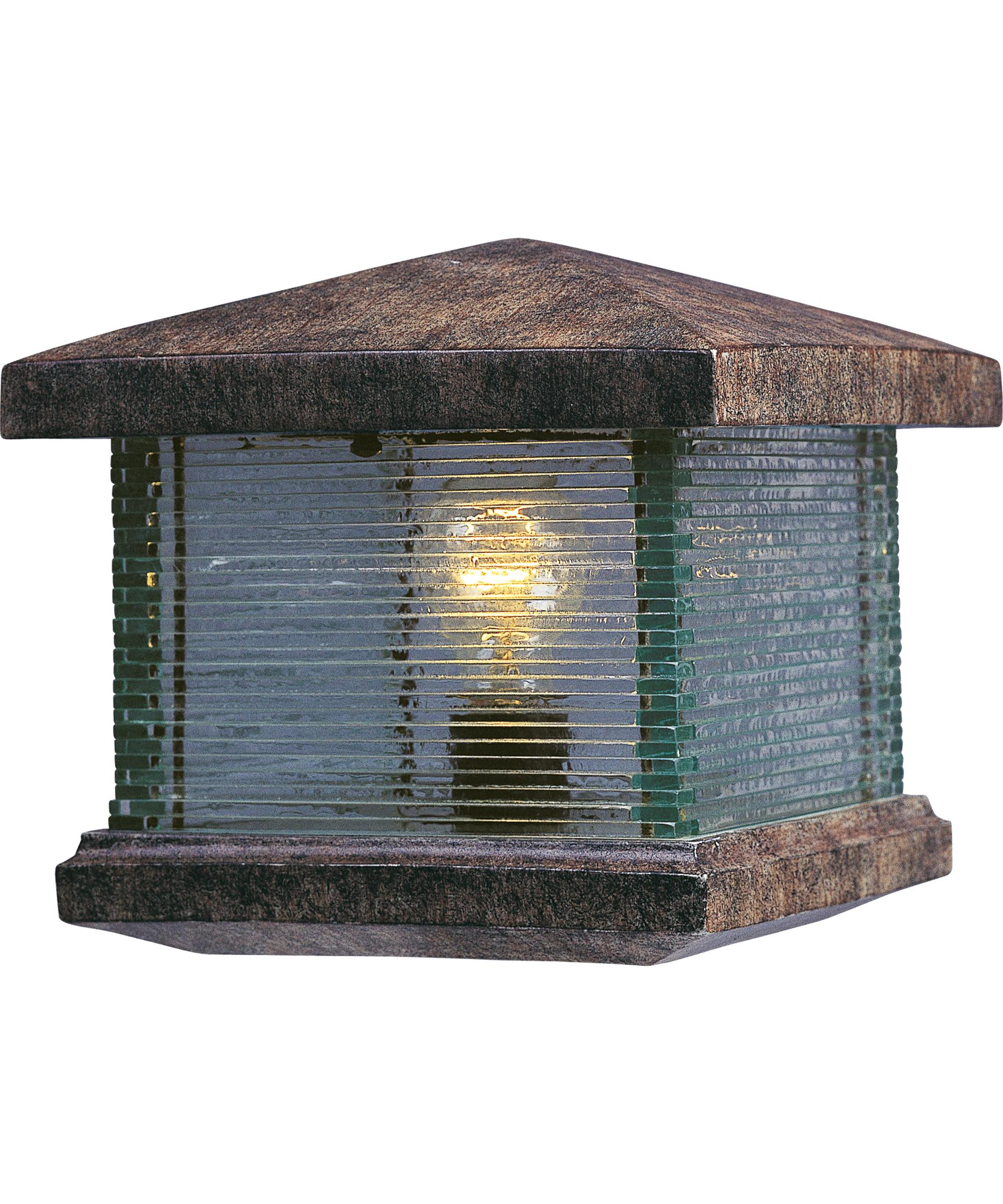 Maxim Lighting 48736 Triumph VX 1 Light Outdoor Pier Lamp | Capitol Lighting  1 800lighting.com