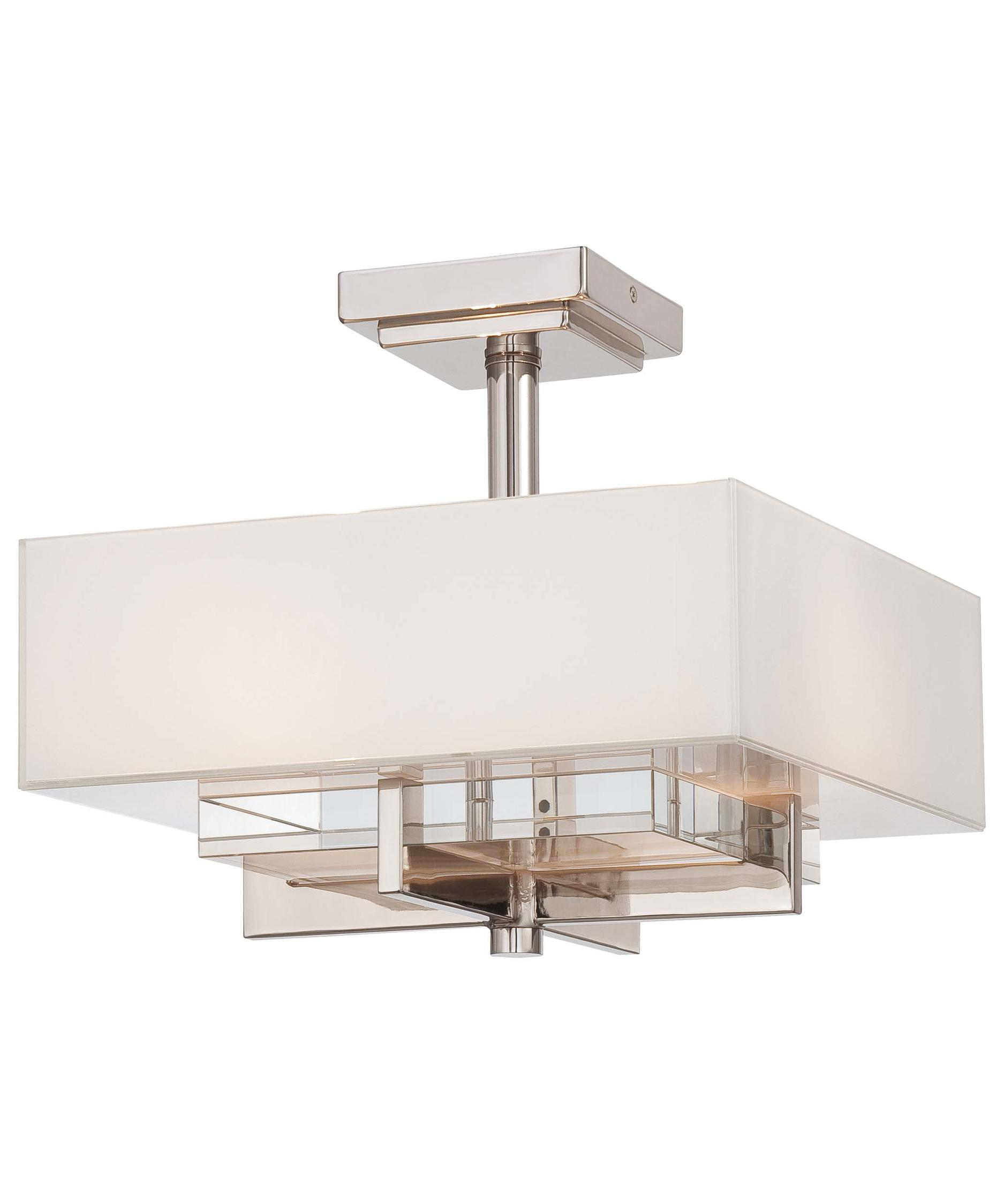 Metropolitan N Eden Roe Inch Wide Semi Flush Mount   Metropolitan Kitchen  And Bath Awesome Ideas