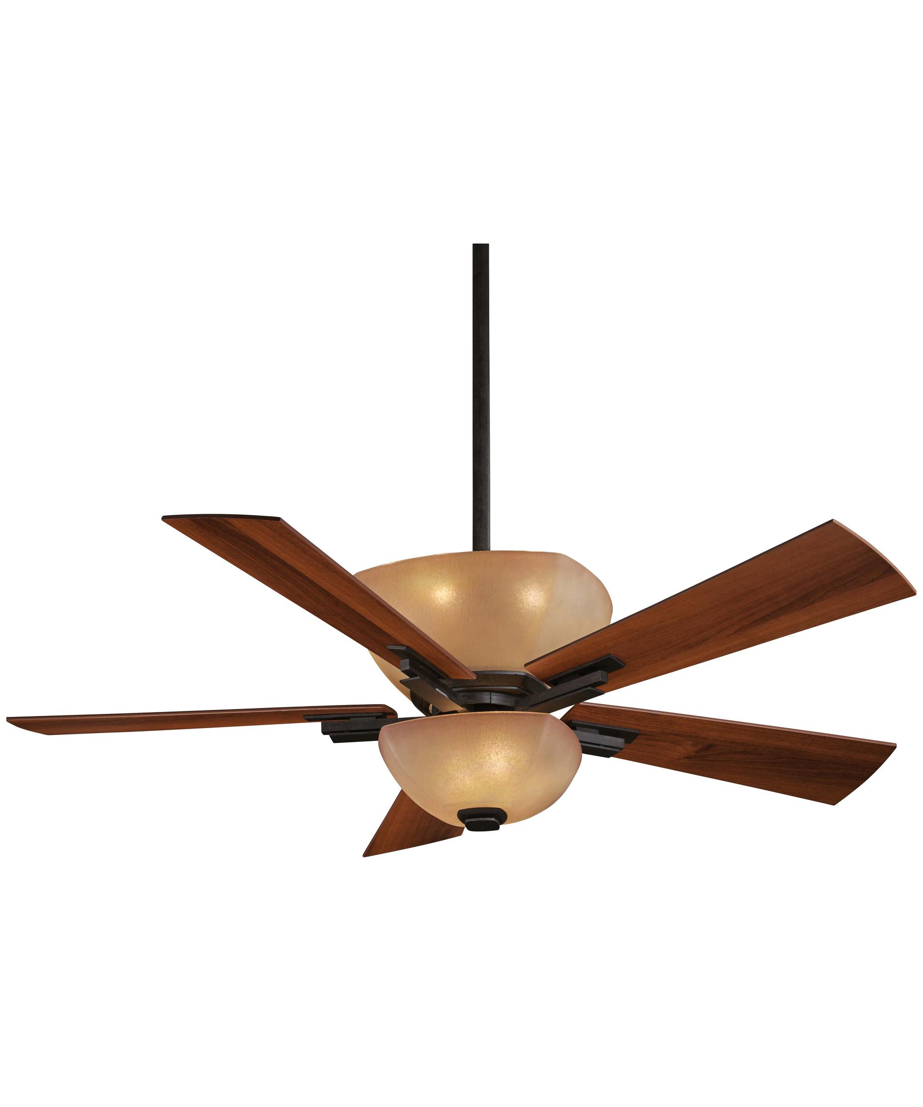 shown in iron oxide finish and venetian scavo glass - Minka Aire Fans