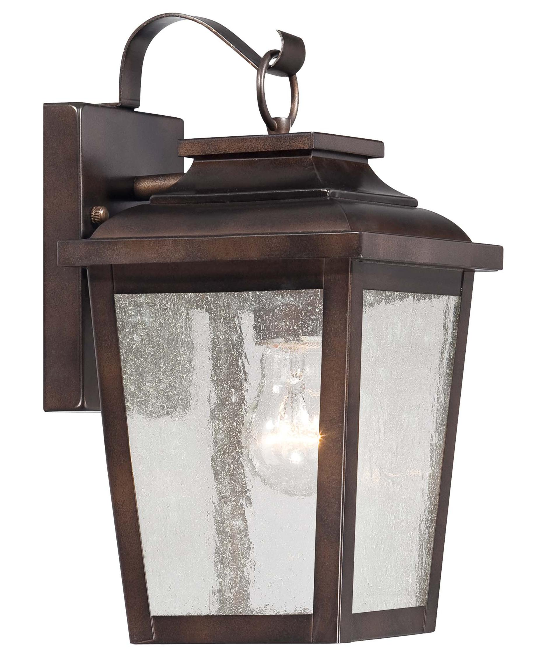 Shown in Chelesa Bronze finish and Clear Seeded glassMinka Lavery 72171 Irvington Manor 7 Inch Wide 1 Light Outdoor  . Low Voltage Outdoor Wall Lighting. Home Design Ideas