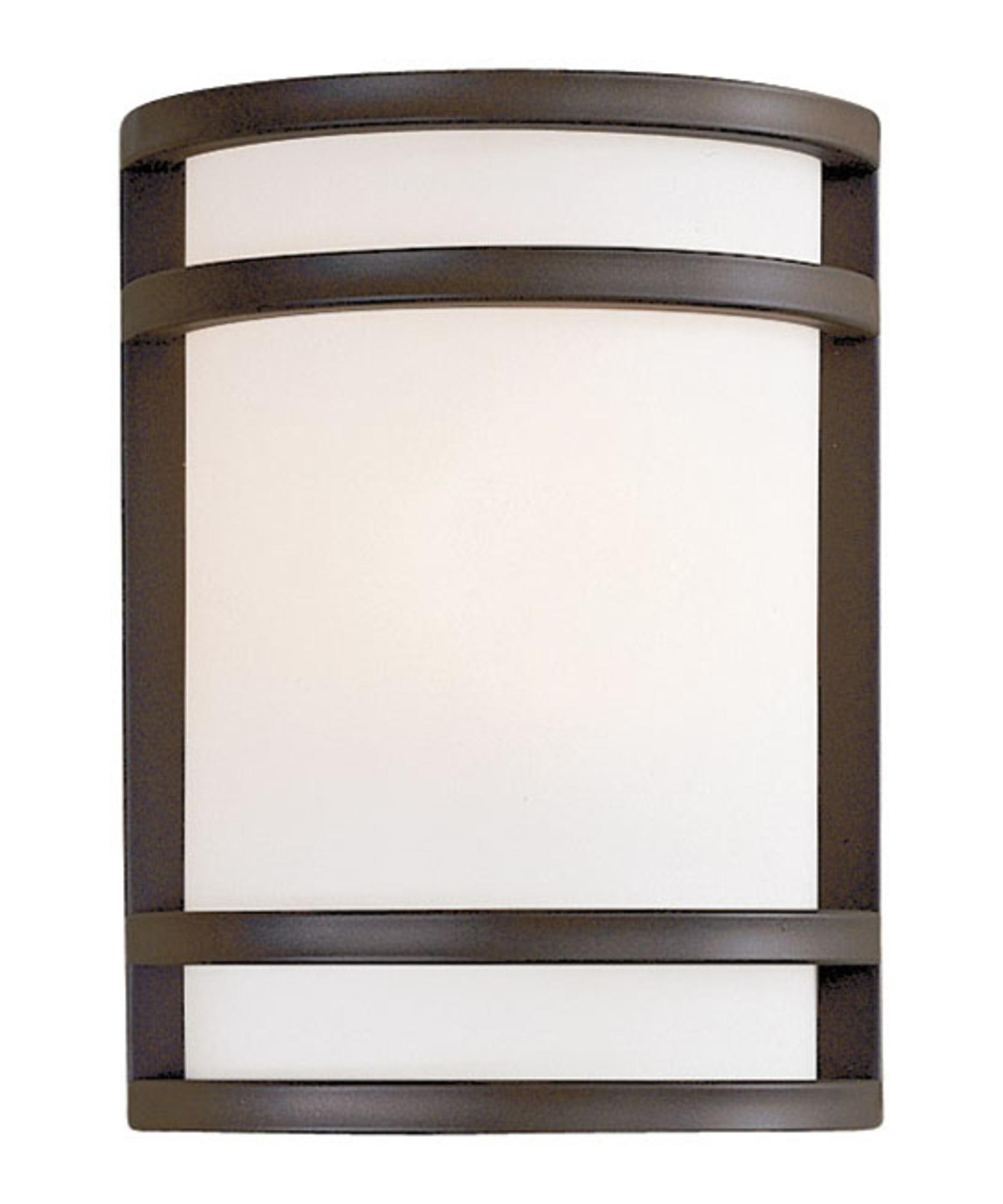 shown in oil rubbed bronze finish and etched opal glass - Minka Lighting