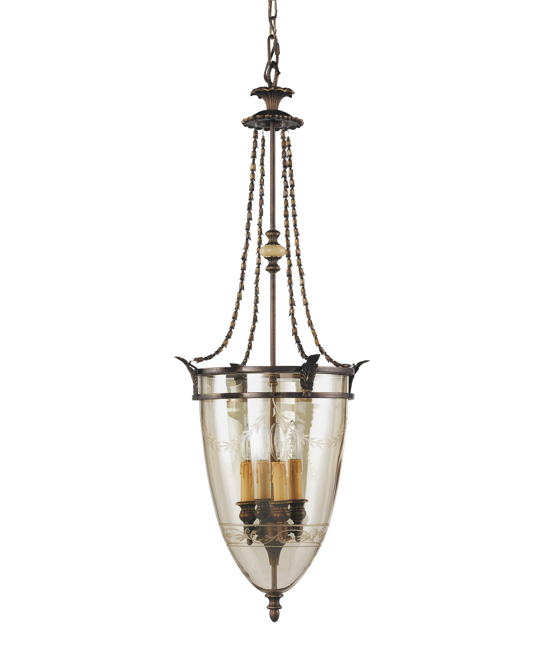 Murray Feiss Fusion Collection: Murray Feiss Tres Chic Belle Fleur 14 Inch Large Pendant