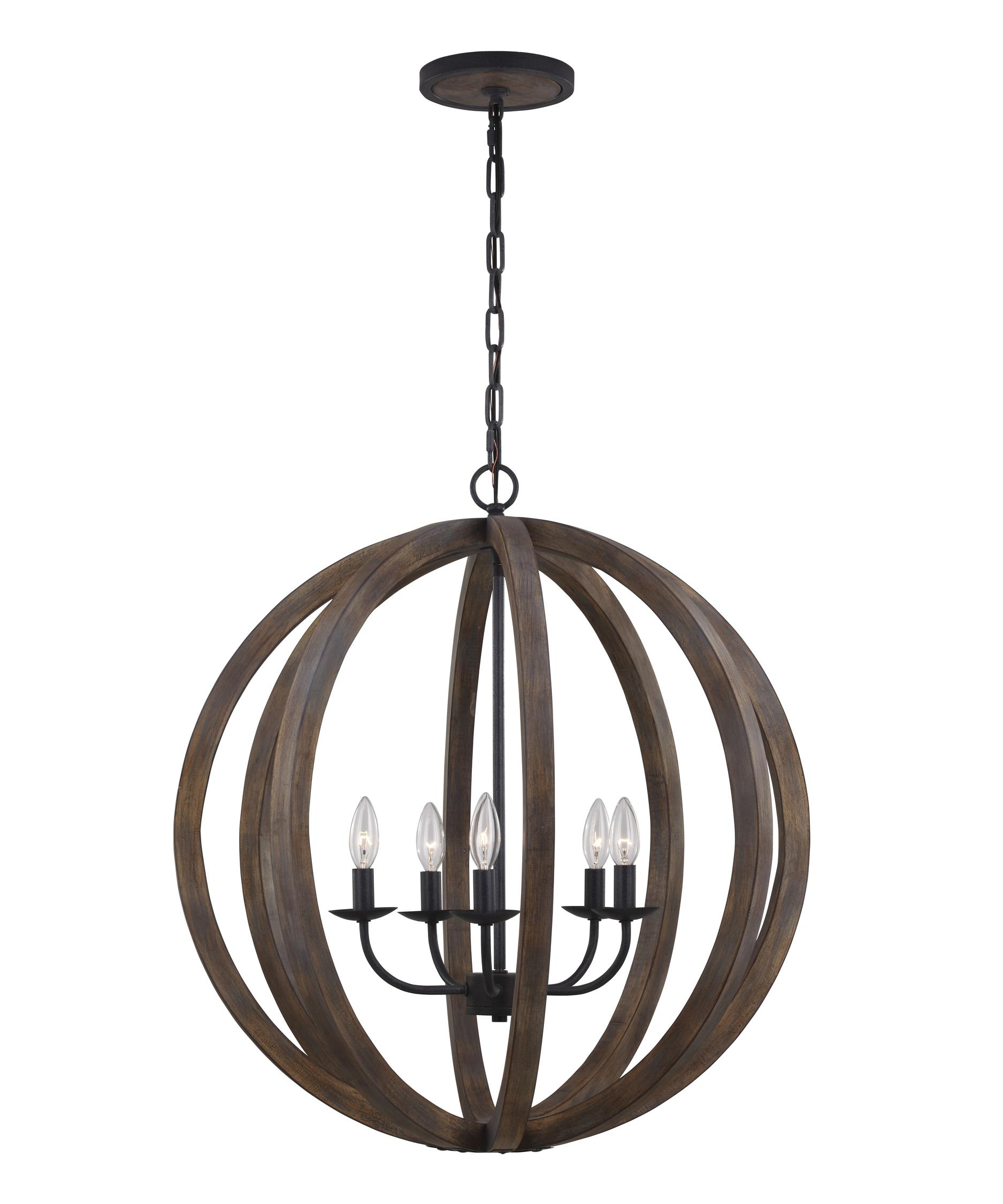 Murray Feiss Allier 26 Inch Wide 5 Light Chandelier – Murray Feiss Chandeliers