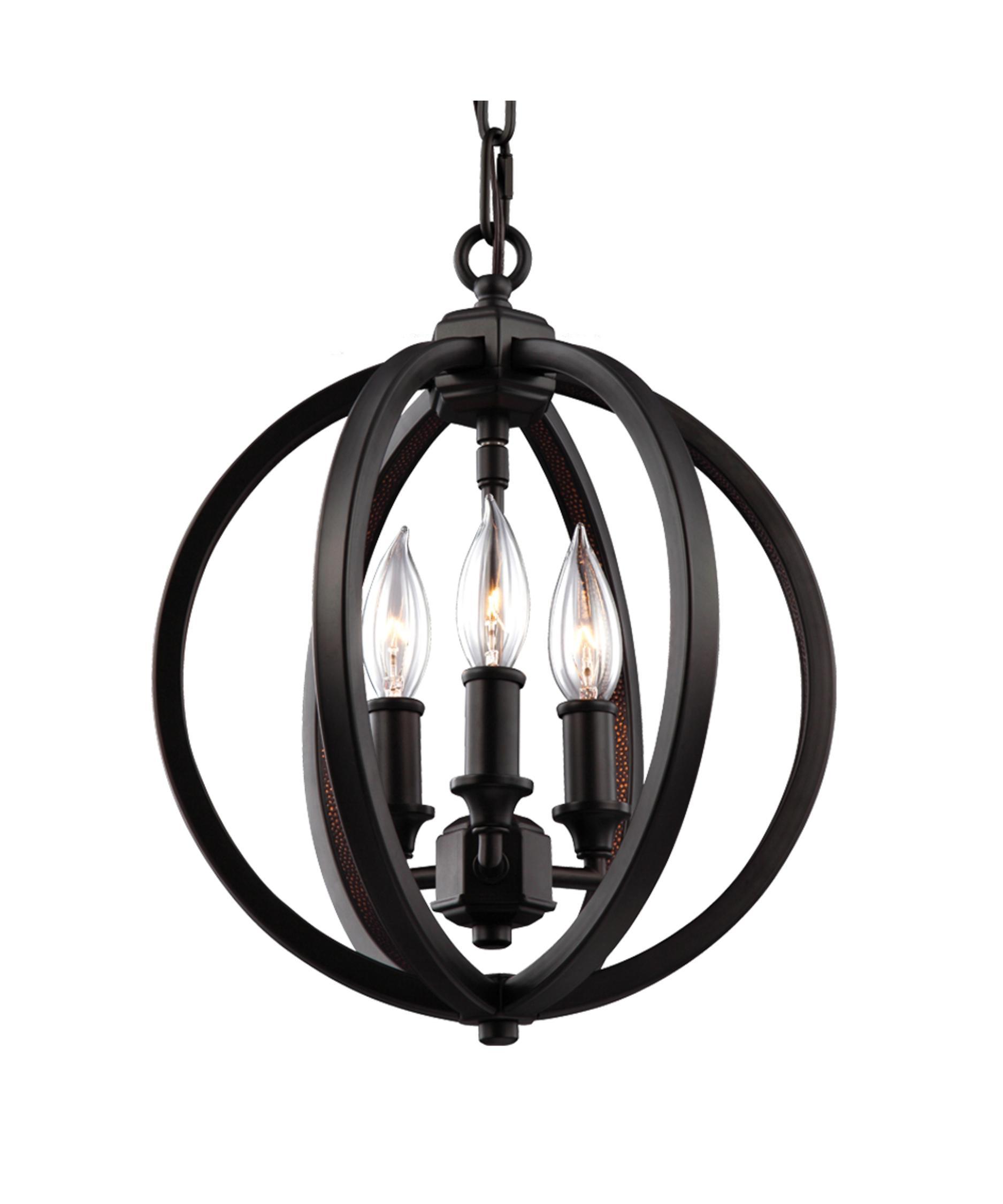 murray feiss f30593 corinne 11 inch wide 3 light mini chandelier capitol lighting - Feiss Lighting