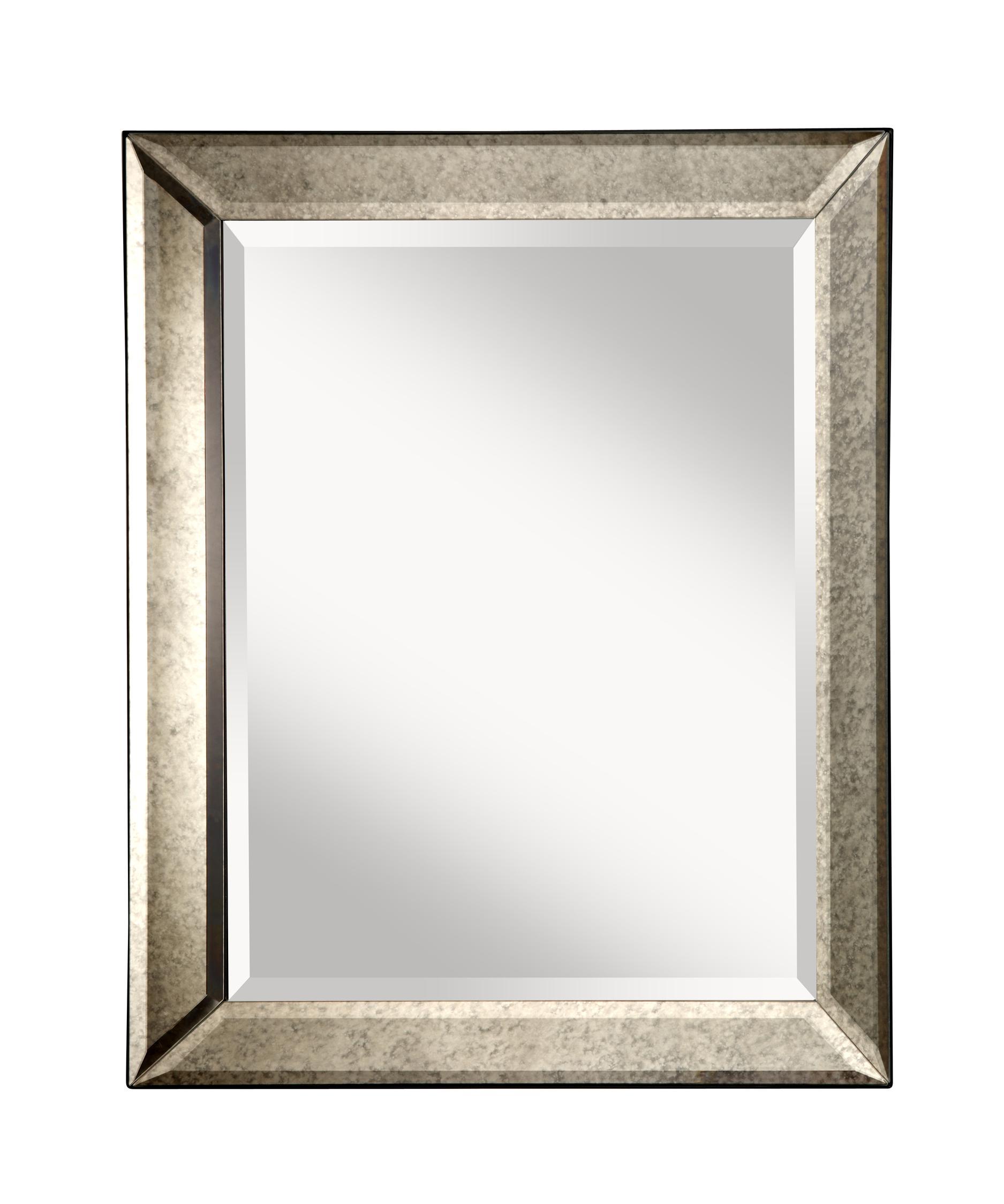 Murray Feiss Mr1141 Antiqua Rectangular Wall Mirror Capitol Lighting 1
