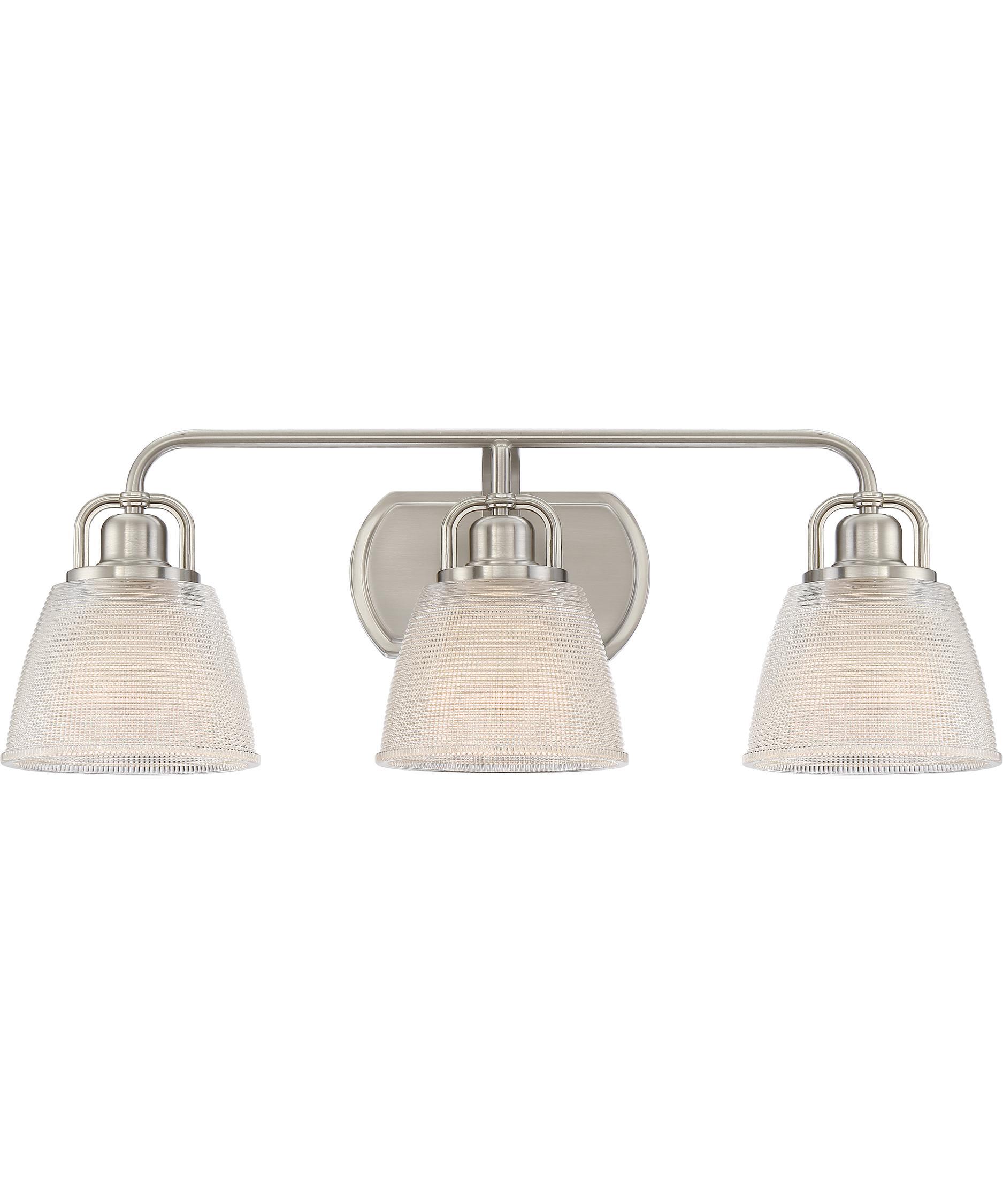 quoizel dublin 25 inch wide bath vanity light | capitol lighting 1