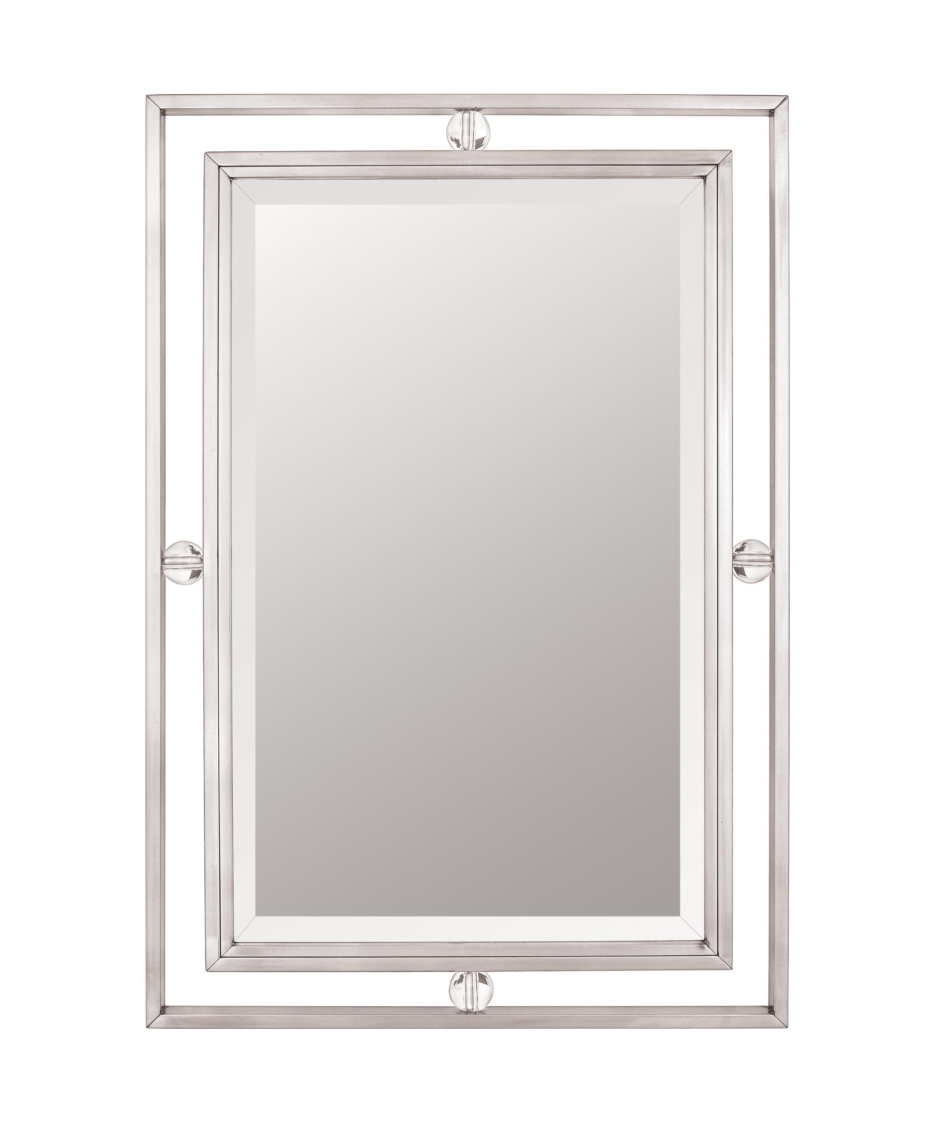 Quoizel Bathroom Mirrors quoizel dw43222 downtown wall mirror | capitol lighting 1