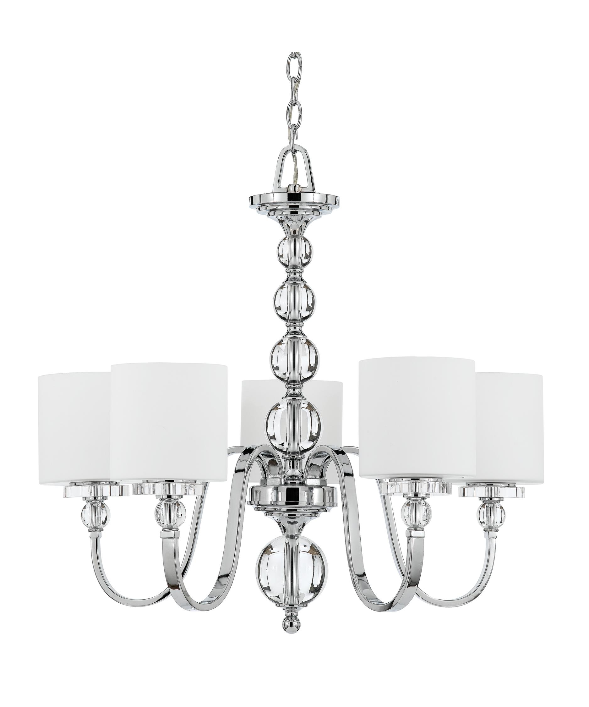 Quoizel Downtown 28 Inch Wide 5 Light Chandelier – Quoizel Chandelier