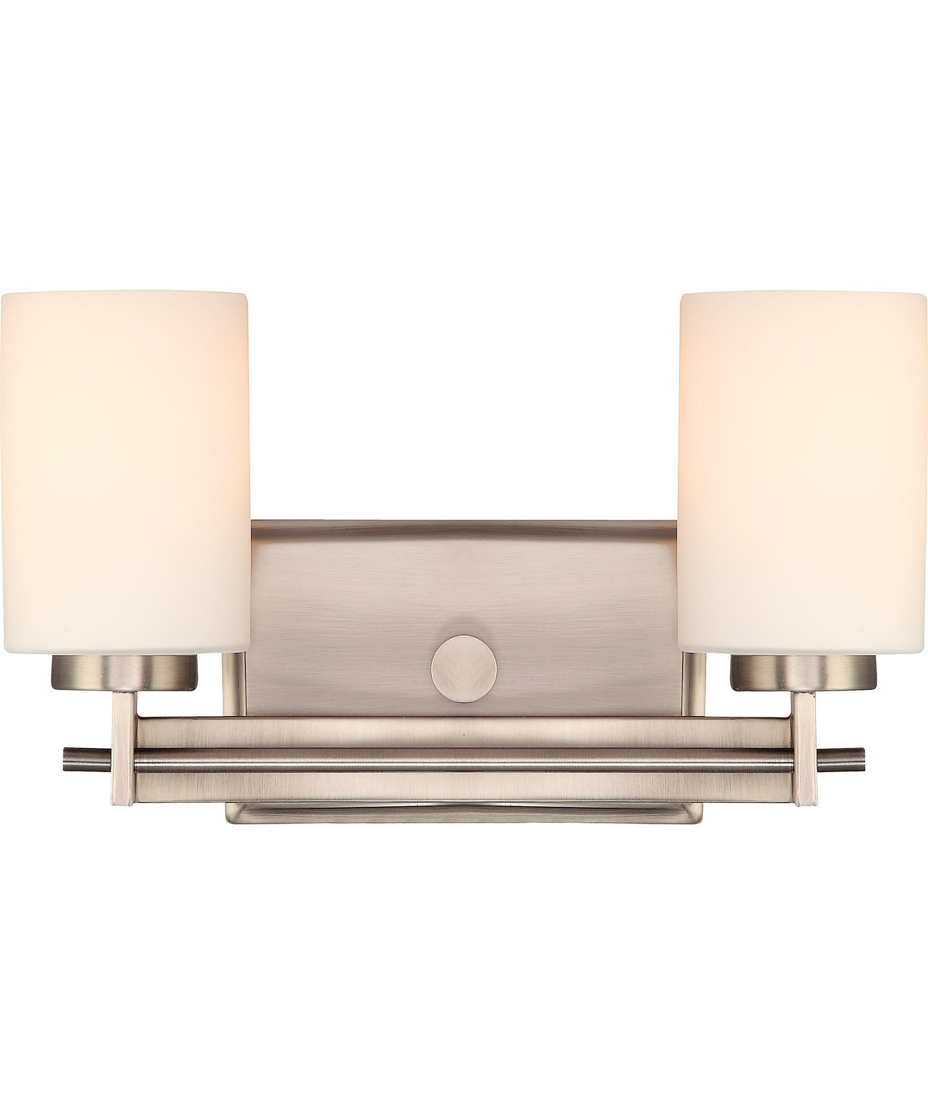 quoizel ty8602 taylor 13 inch wide bath vanity light capitol - Quoizel Bathroom Lighting