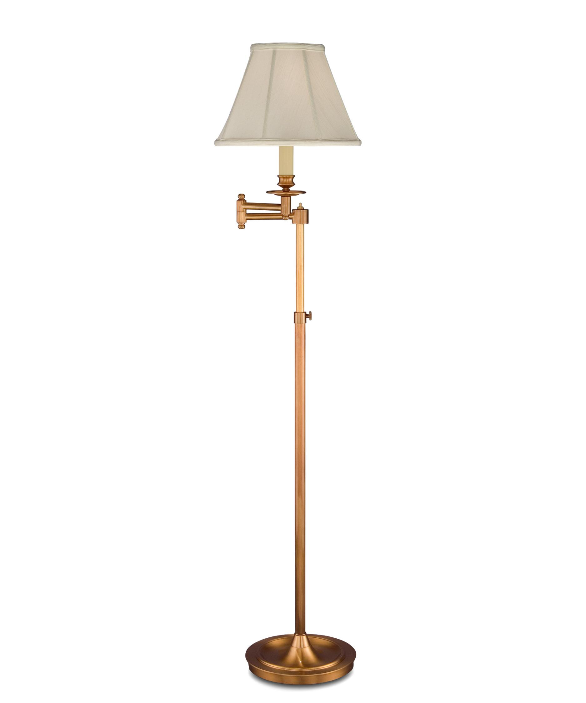 remington lamp 1958 floor lamp in antique brass capitol lighting 1. Black Bedroom Furniture Sets. Home Design Ideas