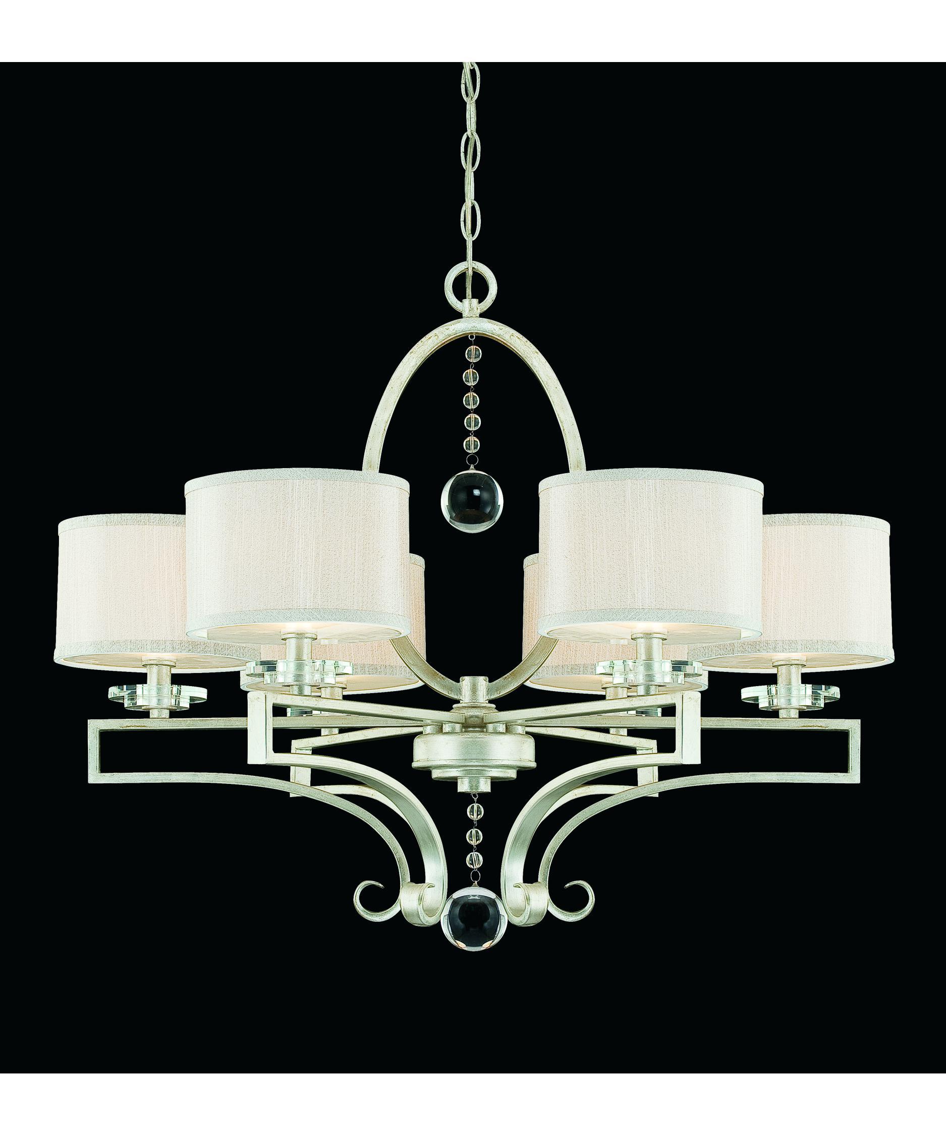 Savoy House Rosendal 30 Inch Wide 6 Light Chandelier – Chandelier Floor Lamp Closeout