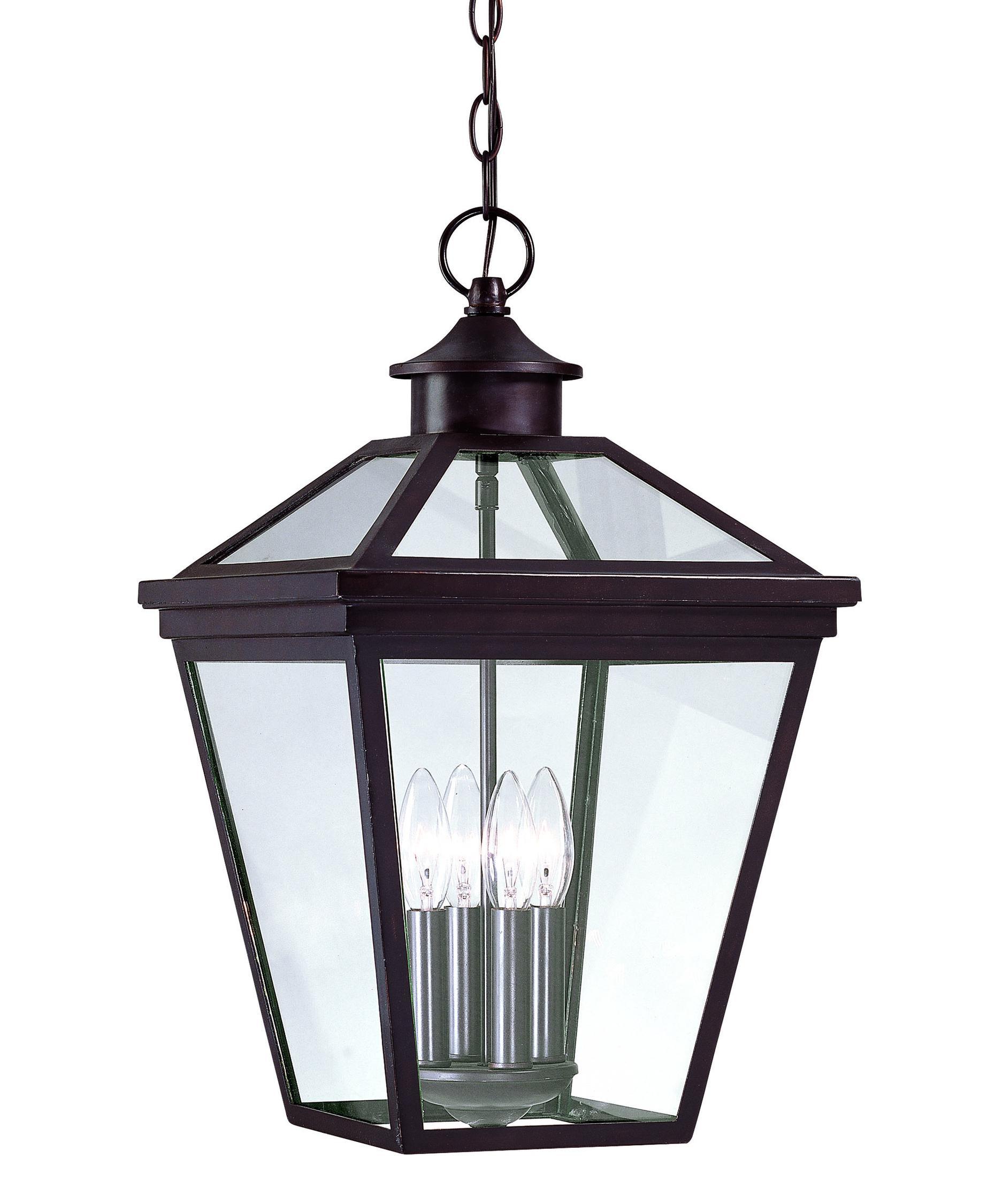 Outdoor hanging lighting - Ellijay 12 Inch Wide 4 Light Outdoor Hanging Lantern