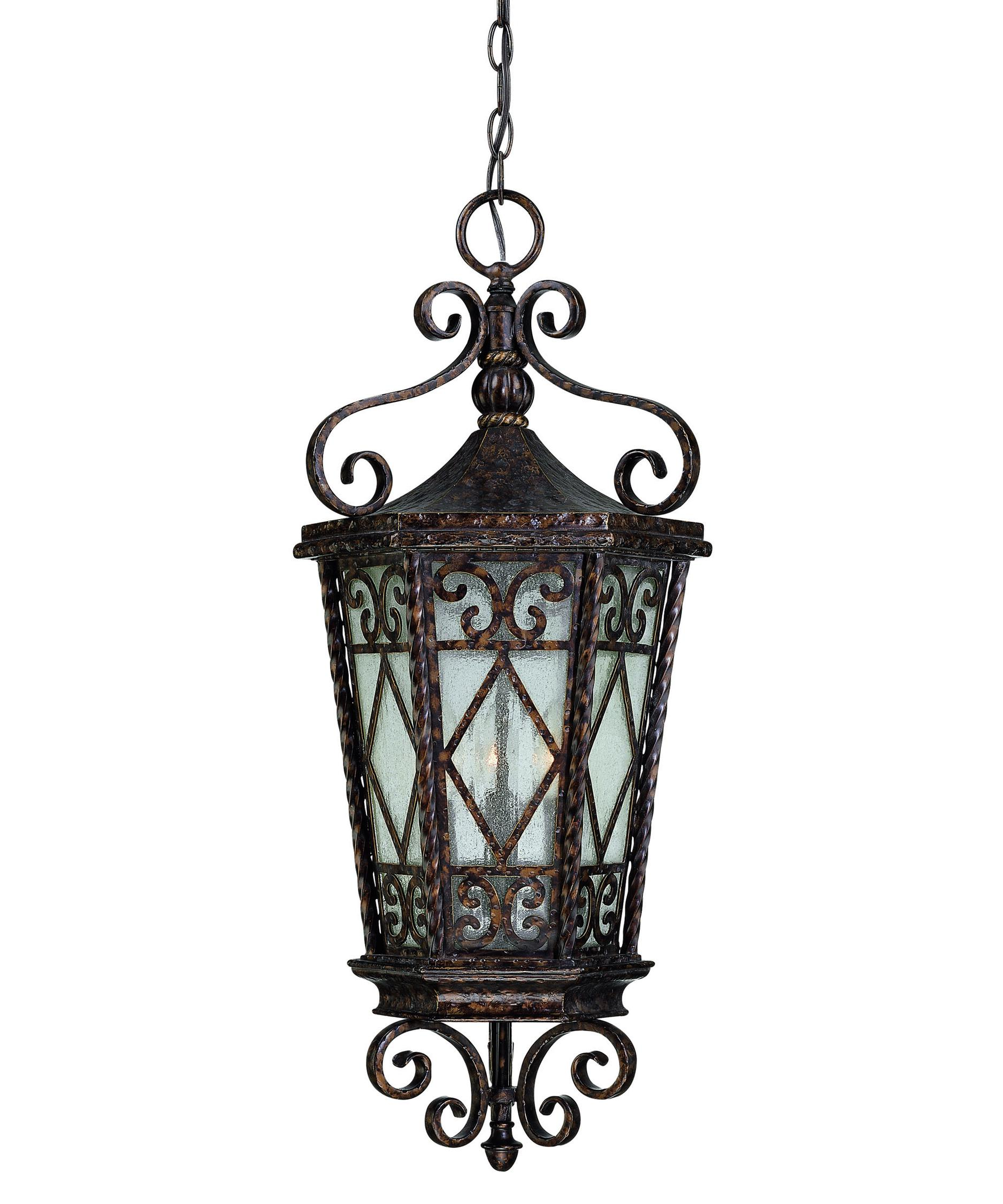 savoy house felicity 12 inch wide 3 light outdoor hanging lantern capitol lighting - Savoy Lighting