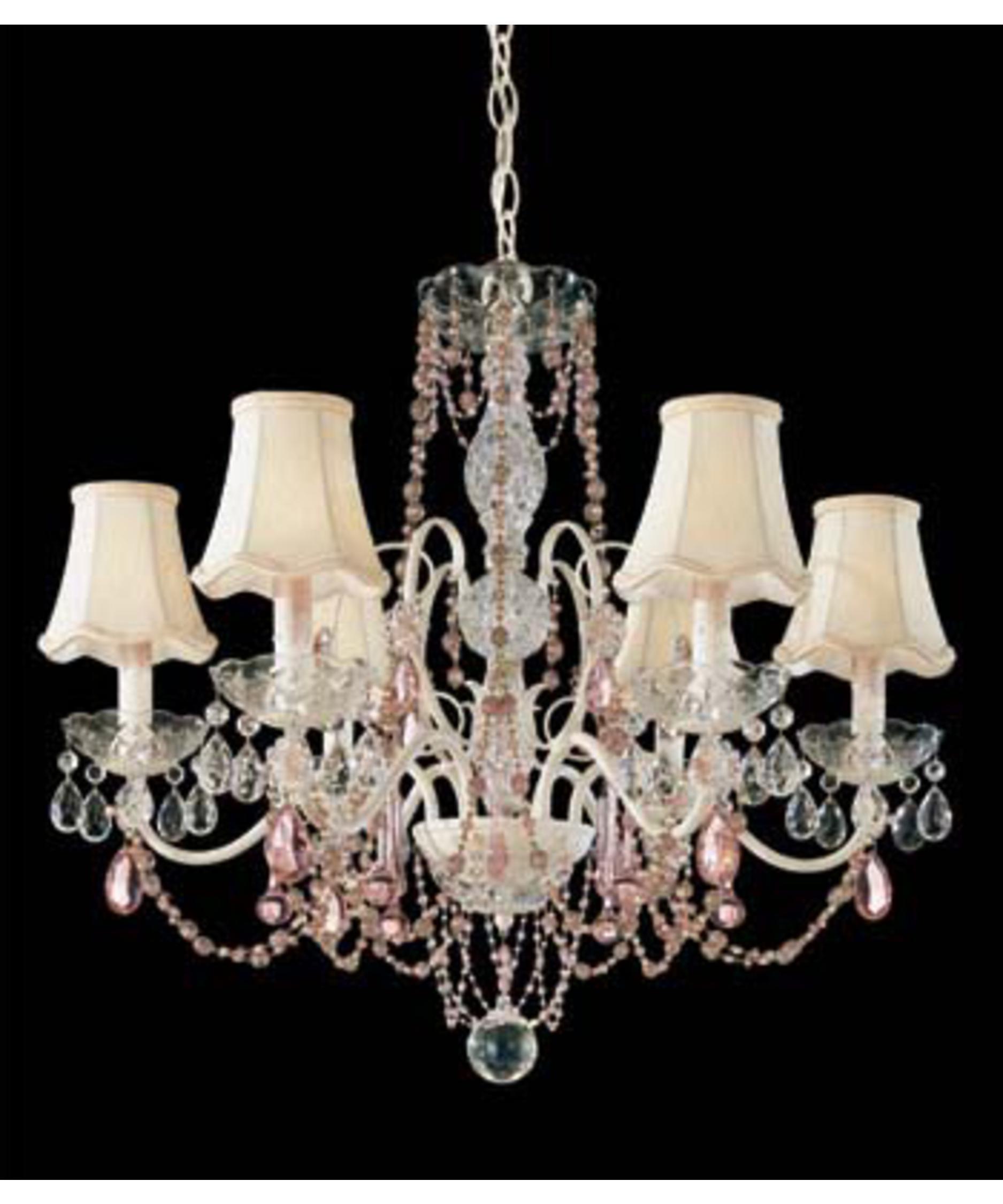 schonbek a la mode 25 inch wide 6 light chandelier capitol lighting - Schonbek