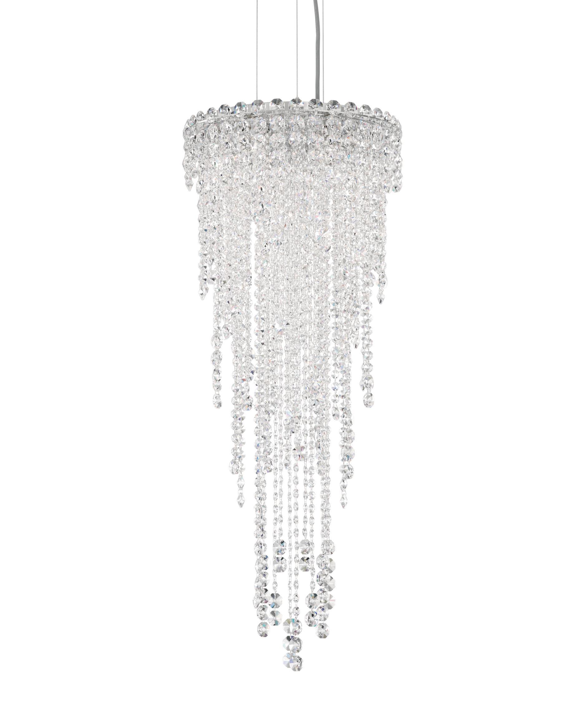 schonbek ch1212 chantant 14 inch wide 4 light mini pendant capitol lighting - Schonbek