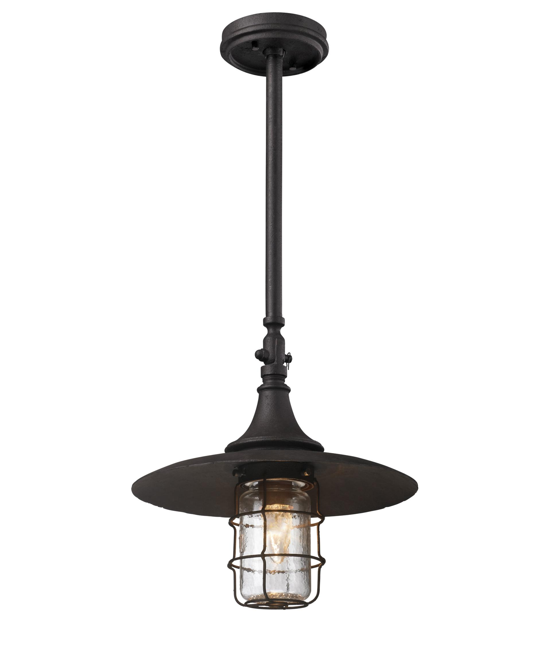 Troy Lighting F3228 Allegany 13 Inch Wide 1 Light Outdoor Hanging