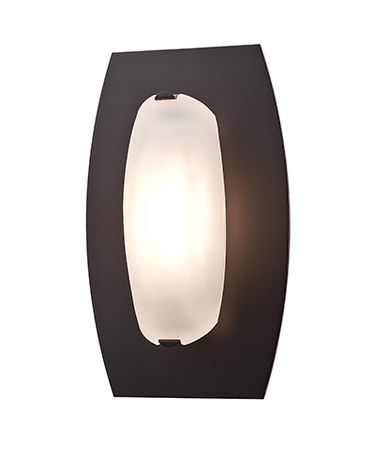 Shown in Oil Rubbed Bronze finish and Frosted glass