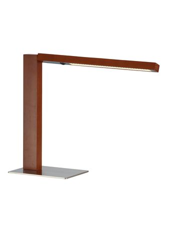Shown in Walnut Wood finish and Detachable Walnut Wood shade
