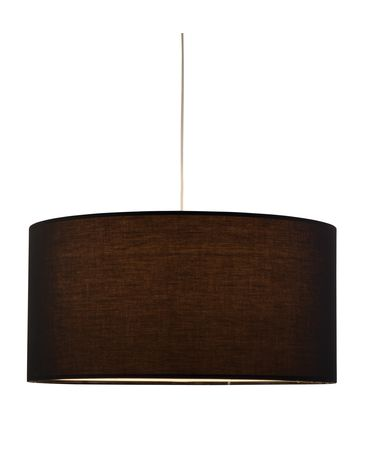 Shown in Black finish and Brown shade