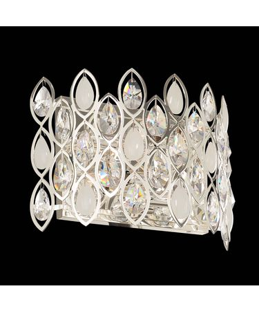 Shown in Silver finish and Firenze crystal