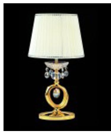 Shown in Two-Tone Gold-24K finish and Swarovski Elements Clear crystal