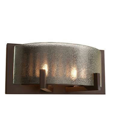 Shown in Industrial Bronze finish and Micro-Texture glass