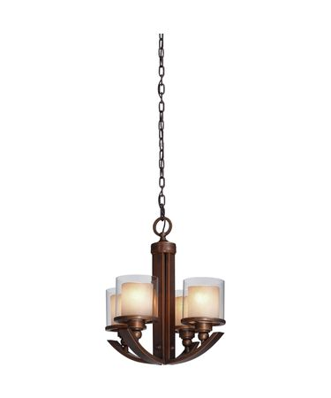 Shown in Distressed Rust finish and Rust Double Layered glass