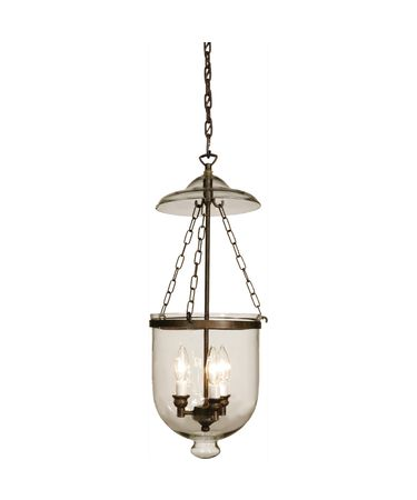 Shown in Bronze finish, Clear glass and Black String shade