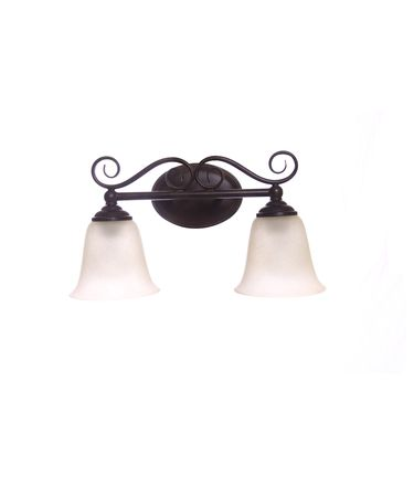 Shown in Antique Bronze finish and Cream Scavo glass