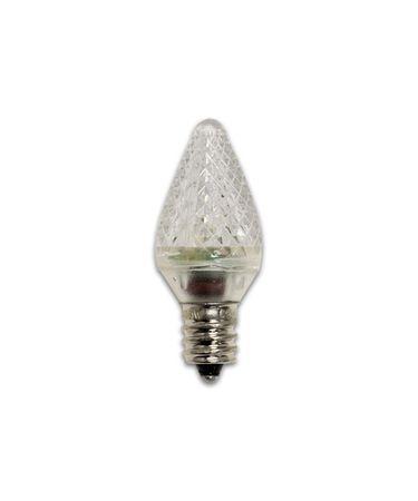 Bulbrite LED-C7C 0.35 Watt 120 Volt 50000 Hour Candelabra C7 Clear LED Bulb