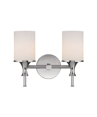 Shown in Polished Nickel finish and Soft White glass