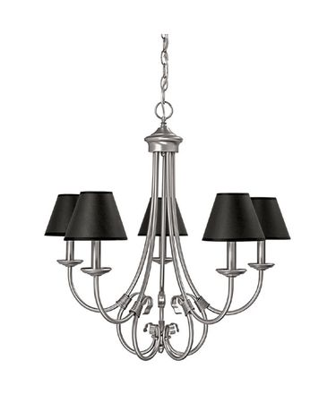 Shown in Matte Nickel finish and Decorative shade