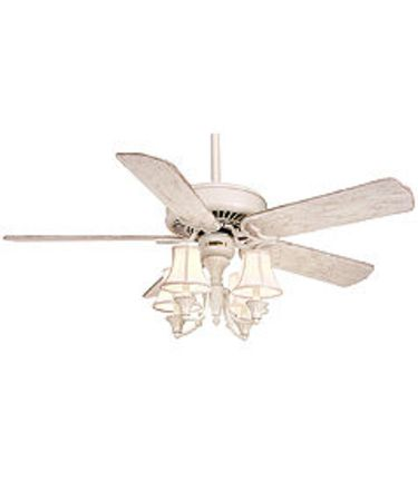 Shown in Classic White finish with Optional B531 blades and Optional K44V Light Kit