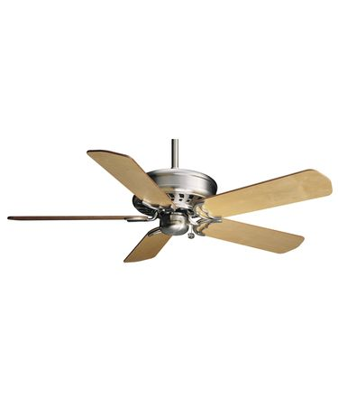 Shown in Brushed Nickel finish with Optional B201 blades
