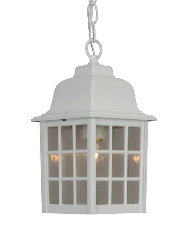 Shown in Matte White finish and Seeded glass
