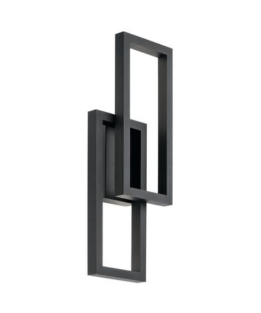 Shown in Textured Black finish and Polycarbonate glass