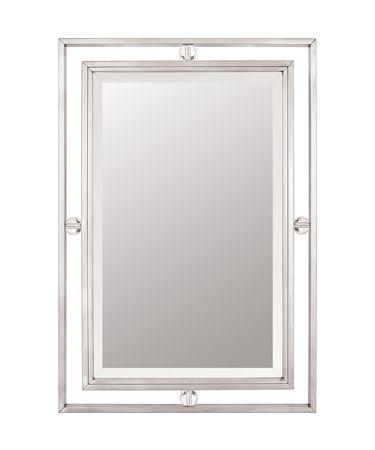 Quoizel DW43222 Downtown Rectangular Wall Mirror